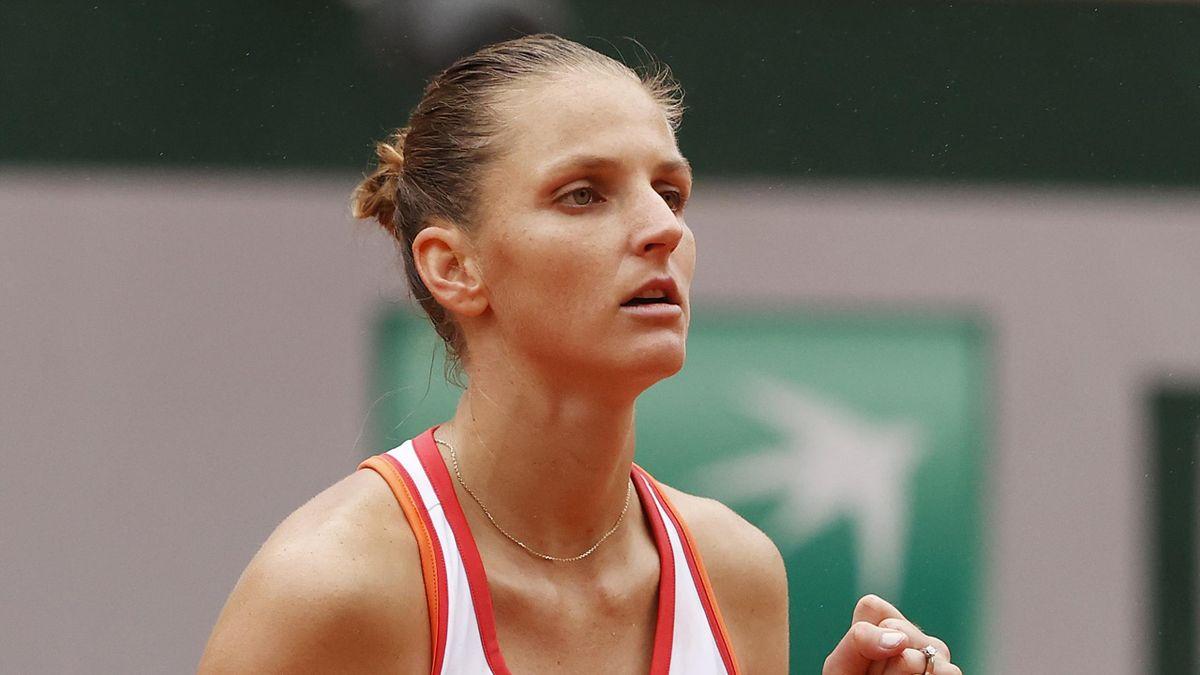 Karolina Pliskova Roland Garros 2020