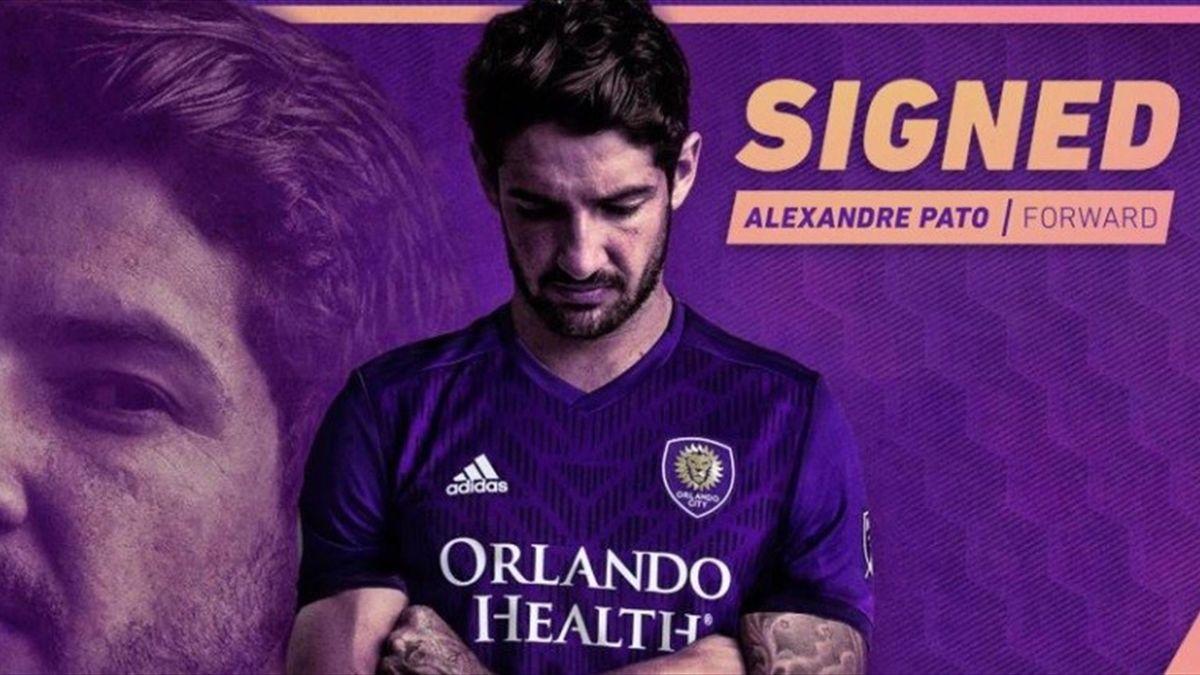 Pato firma con l'Orlando City - credit @orlandocitysc.com