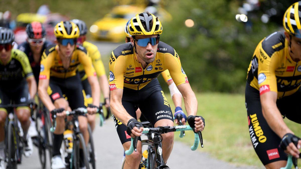 Tom Dumoulin (Jumbo-Visma) gibt bei der Tour de Suisse sein Comeback