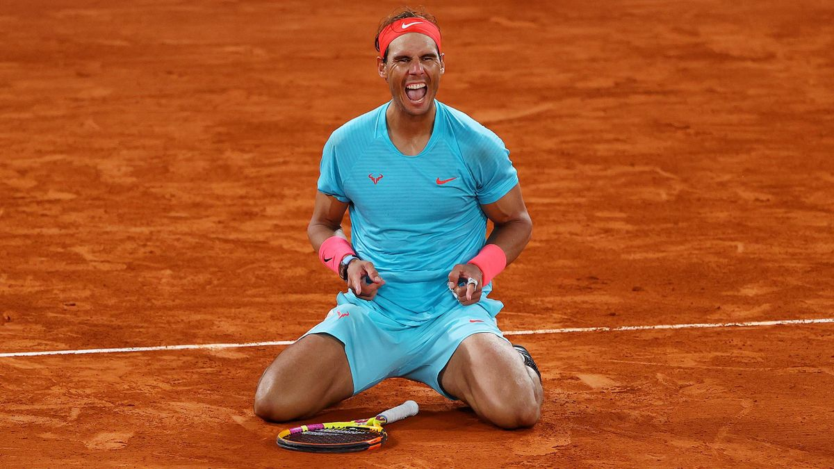 Rafael Nadal after his 13th Roland Garros victory