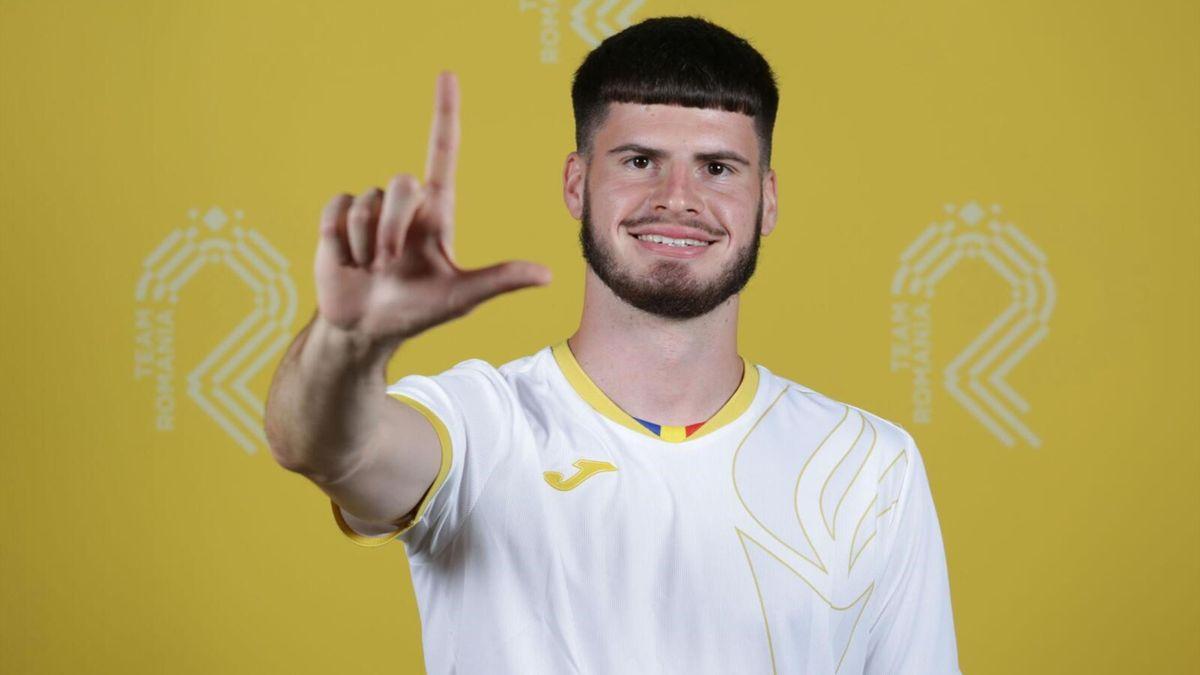 Tudor Baluta (Romania U21)
