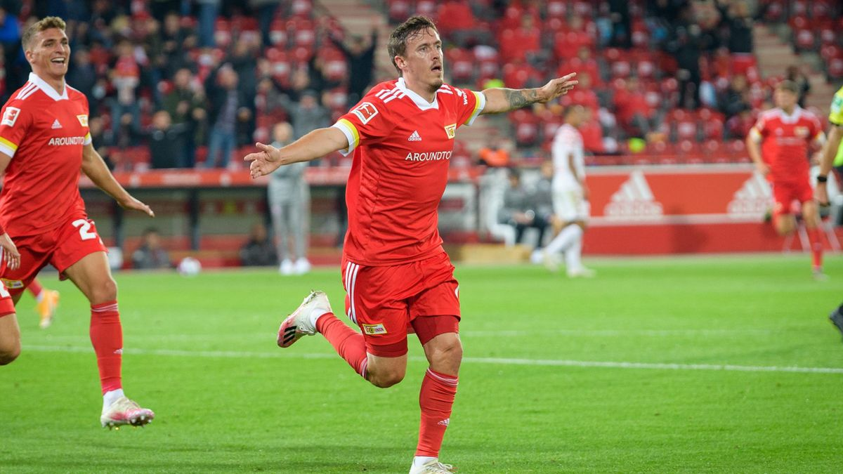 Max Kruse spielt August 2020 für den 1. FC Union Berlin
