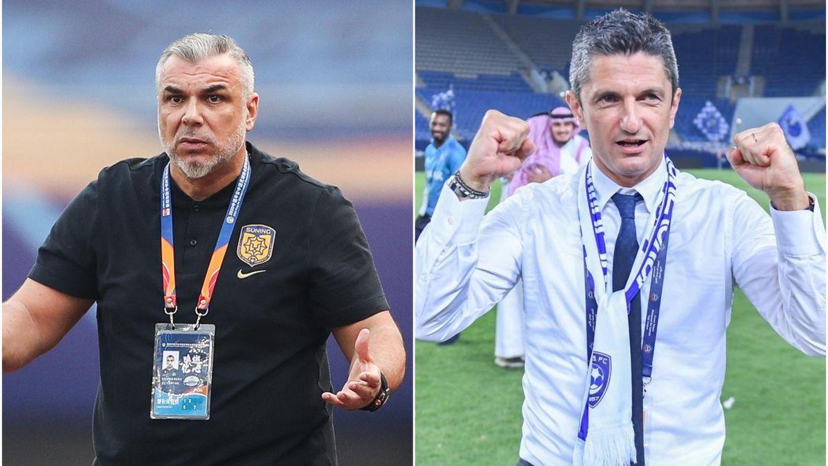 Cosmin Olăroiu și Răzvan Lucescu