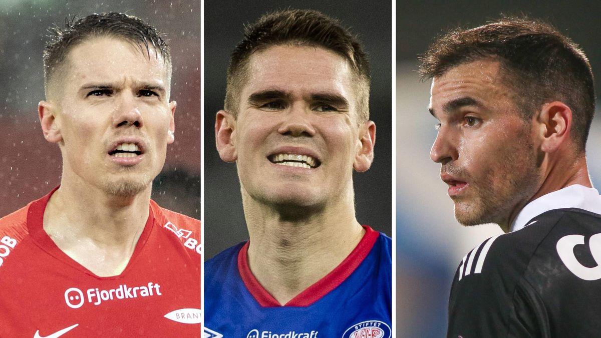 Robert Taylor, Vidar Örn Kjartansson og Dino Islamovic er blant spillerne som kan bli tatt ut på landslaget, men deretter miste seriestarten hvis de havner i karantene.