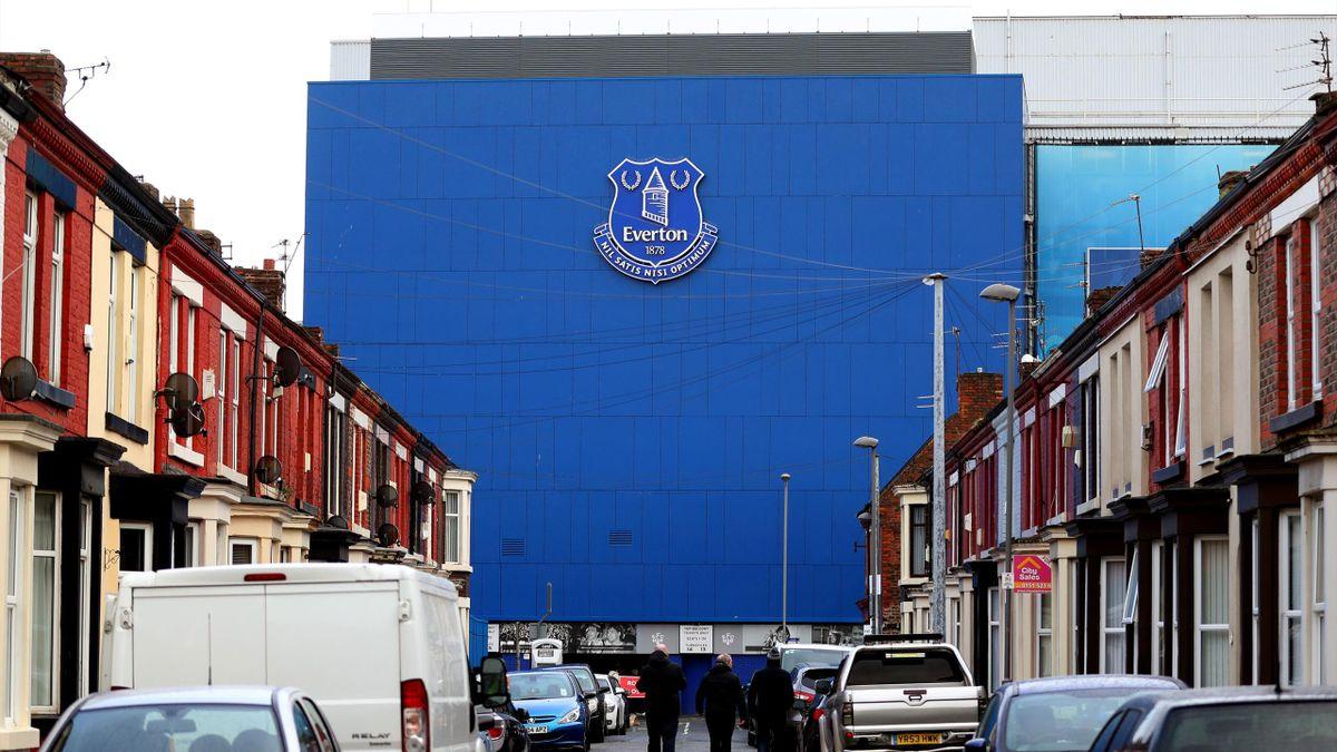 Das Stadion des FC Everton