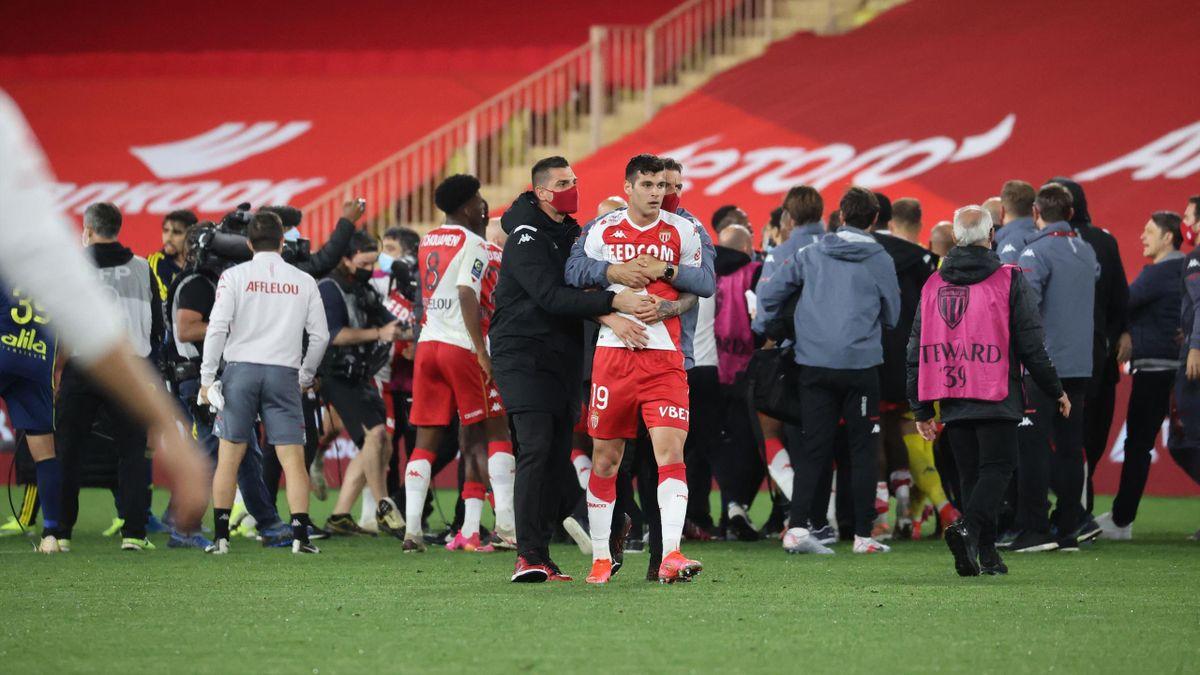 Lyonnais et Monégasques ont bien failli en venir aux mains après la victoire de l'OL sur la pelouse de Monaco lors de la 35e journée (2-3)