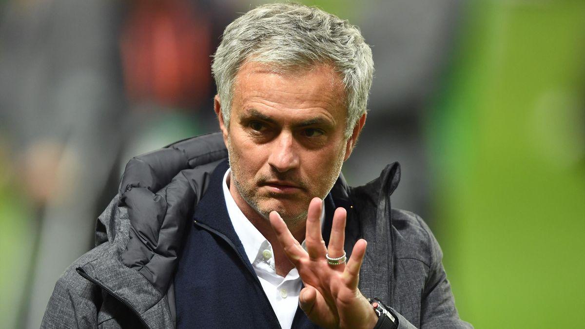 2017, Jose Mourinho, UEFA Europa League, Getty Images