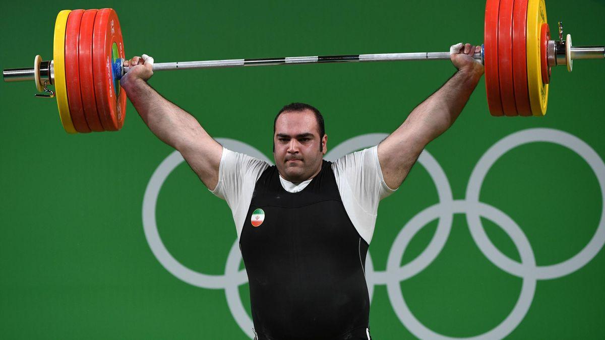 Gewichtheber Behdad Salimikordasiabi
