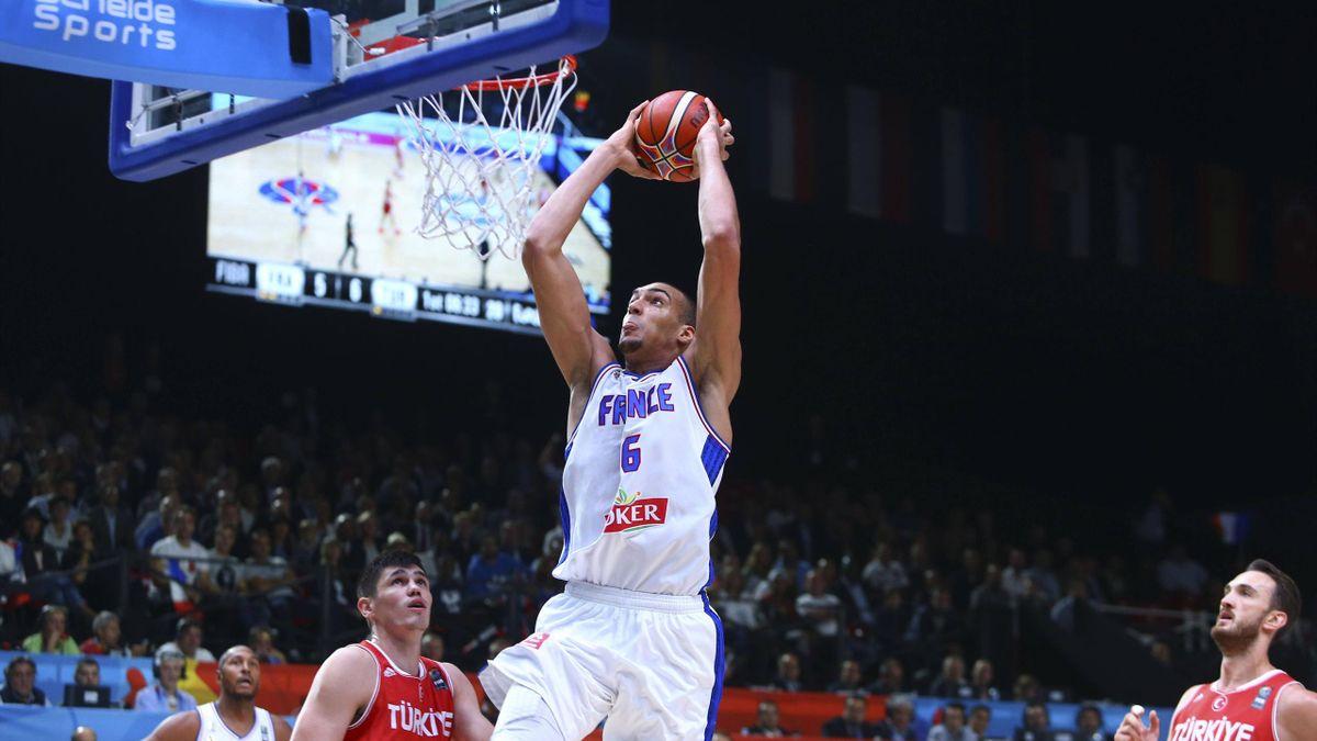 Rudy Gobert führt Frankreich zum Sieg über die Türkei und zieht ins Viertelfinale der Basketball-EM ein