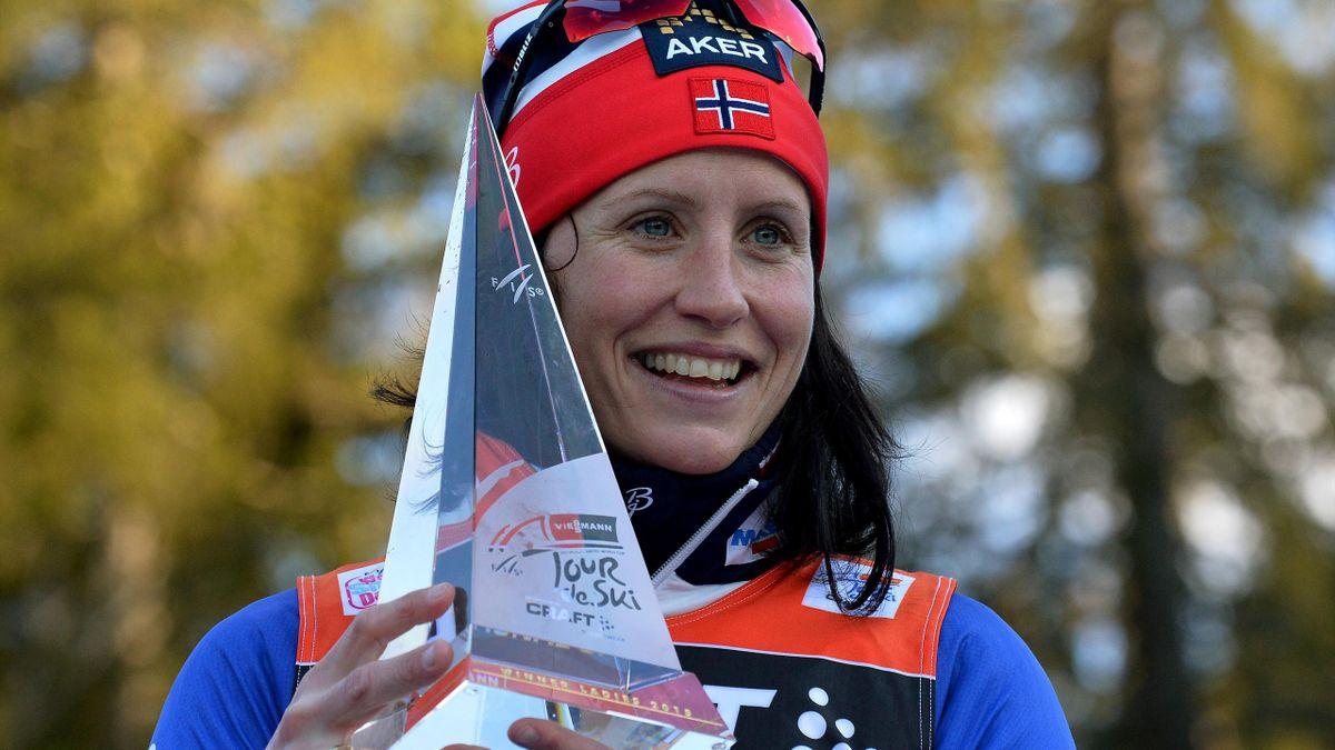 Марит Бьорген – победительница «Тур де Ски»-2015