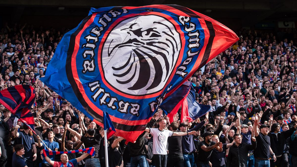 Les Homesdale Fanatics à Crystal Palace