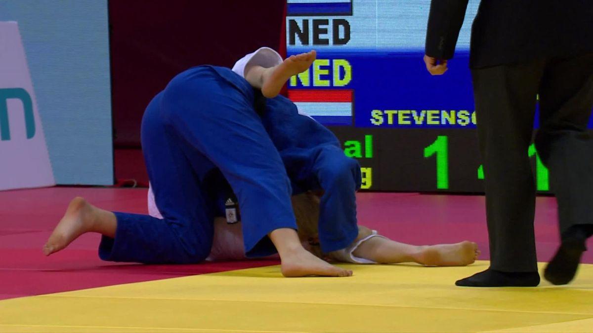 Judo   Natascha Ausma pakt goud in Tbilisi in Nederlandse finale
