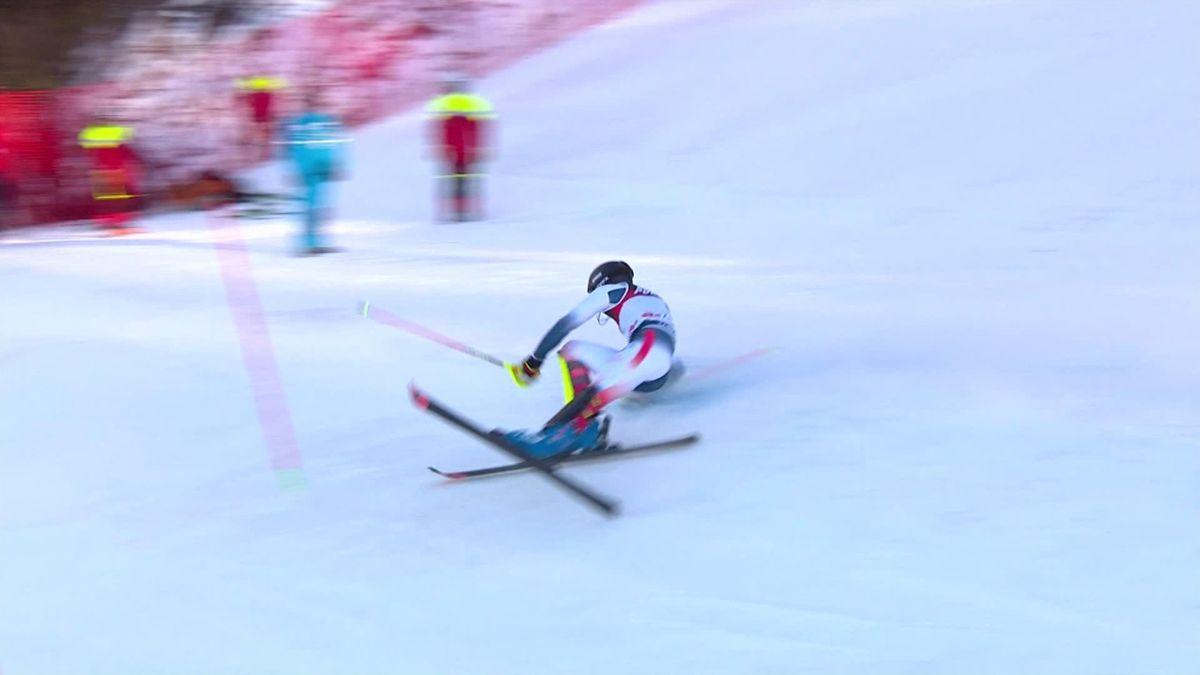 Zagreb : Slalom Men - Run 1 - Noel