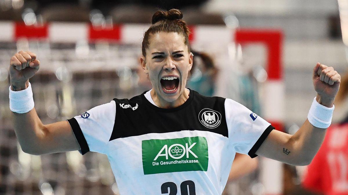 Emily Bölk hat mit der deutschen Handballnationalmannschaft die WM-Qualifikation geschafft