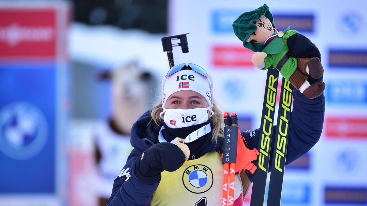 Tiril Eckhoff bei der Biathlon-WM