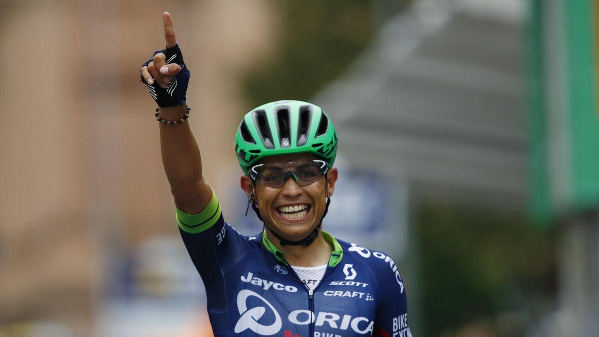 Esteban Chaves (Orica) gewinnt die Lombardei-Rundfahrt