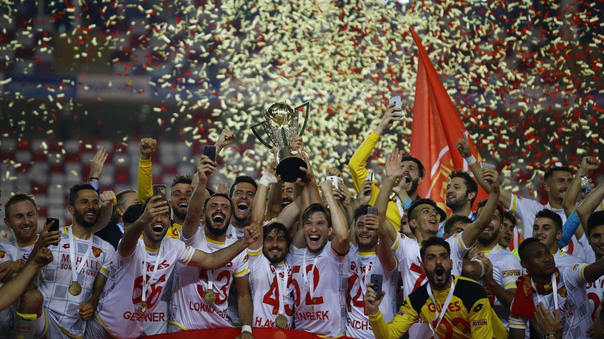 Göztepe, Süper Lig'e katılım hakkı elde etti