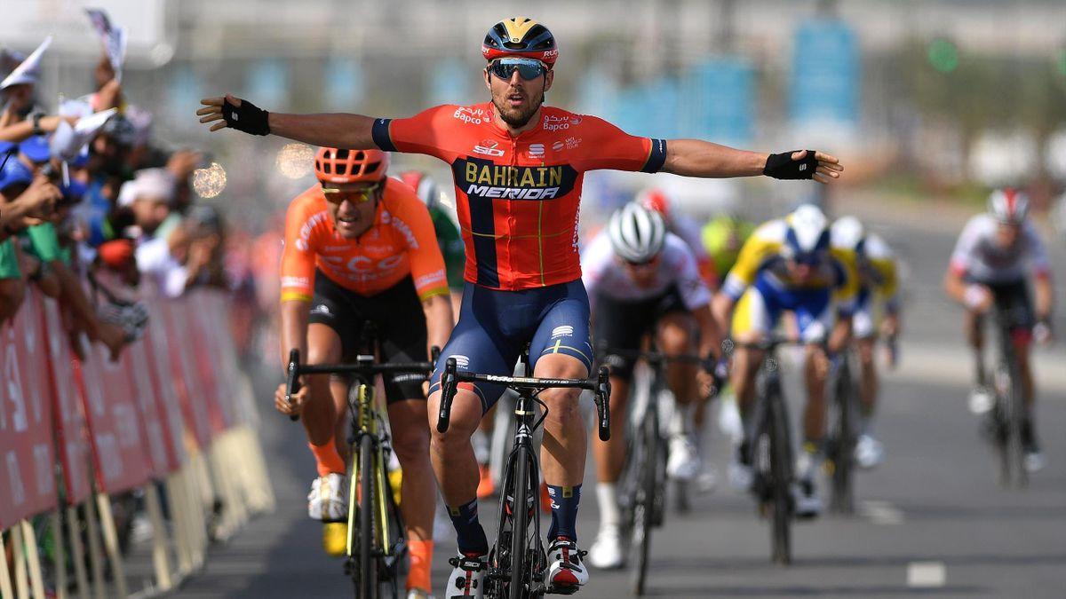 Sonny Colbrelli al Tour dell'Oman