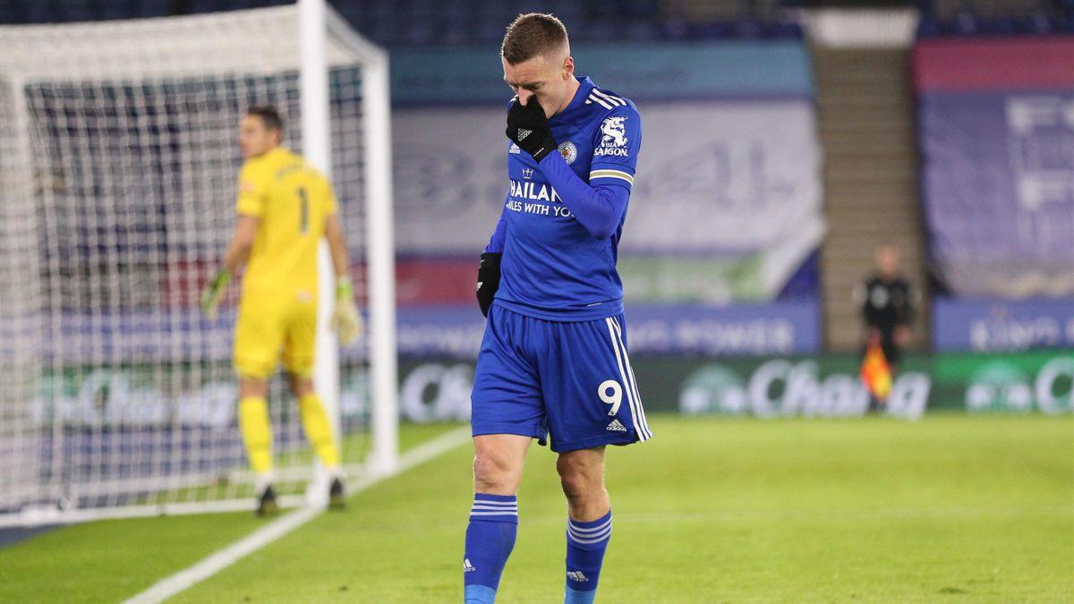 Jamie Vardy, l'attaquant de Leicester.