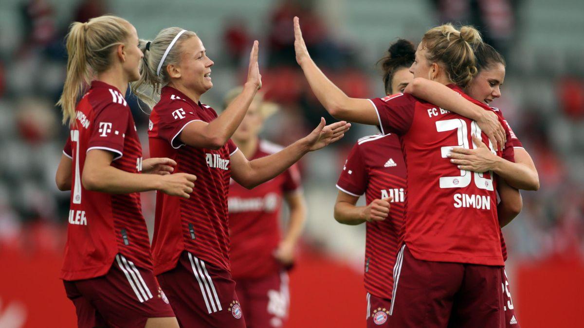 Die Bayern-Frauen gewinnen locker im DFB-Pokal