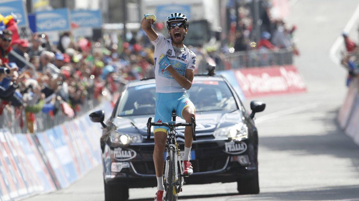 Fabio Aru gewinnt die 19. Etappe des Giro d' Italia