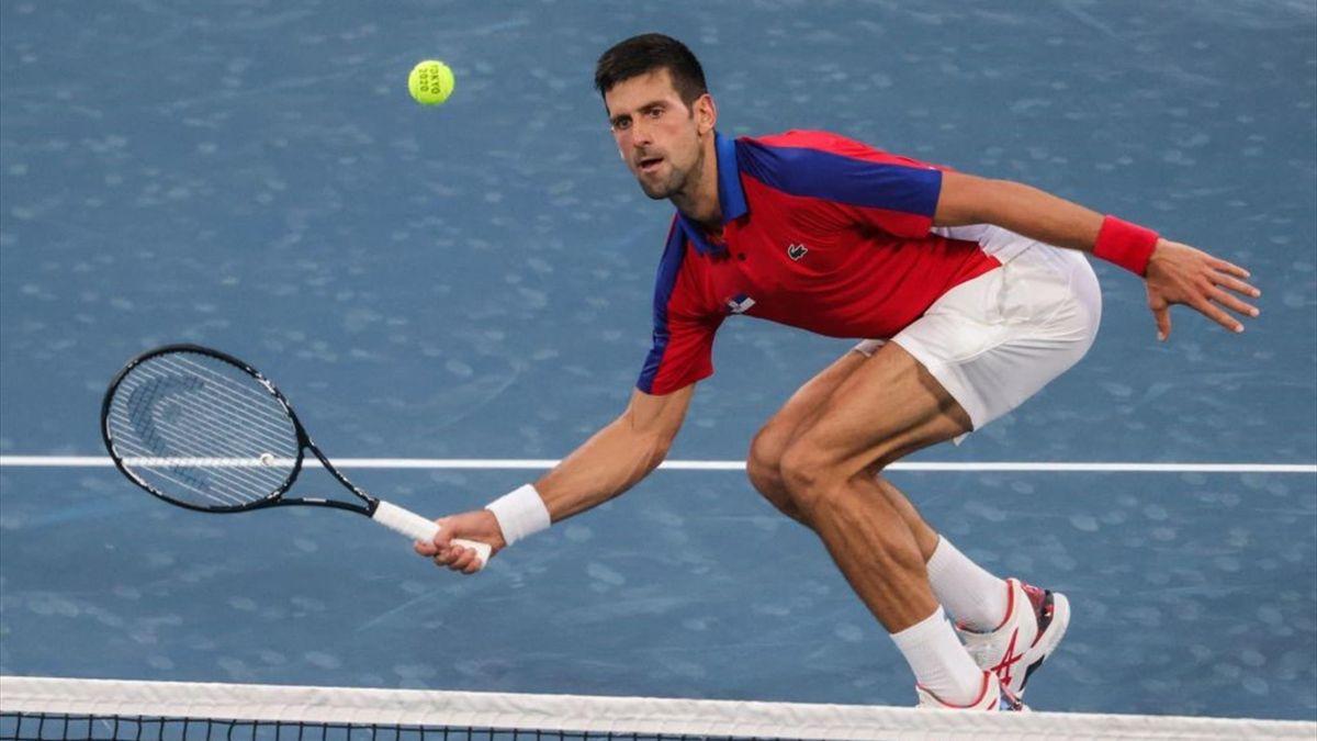 Novak Djokovic alle Olimpiadi di Tokyo 2020