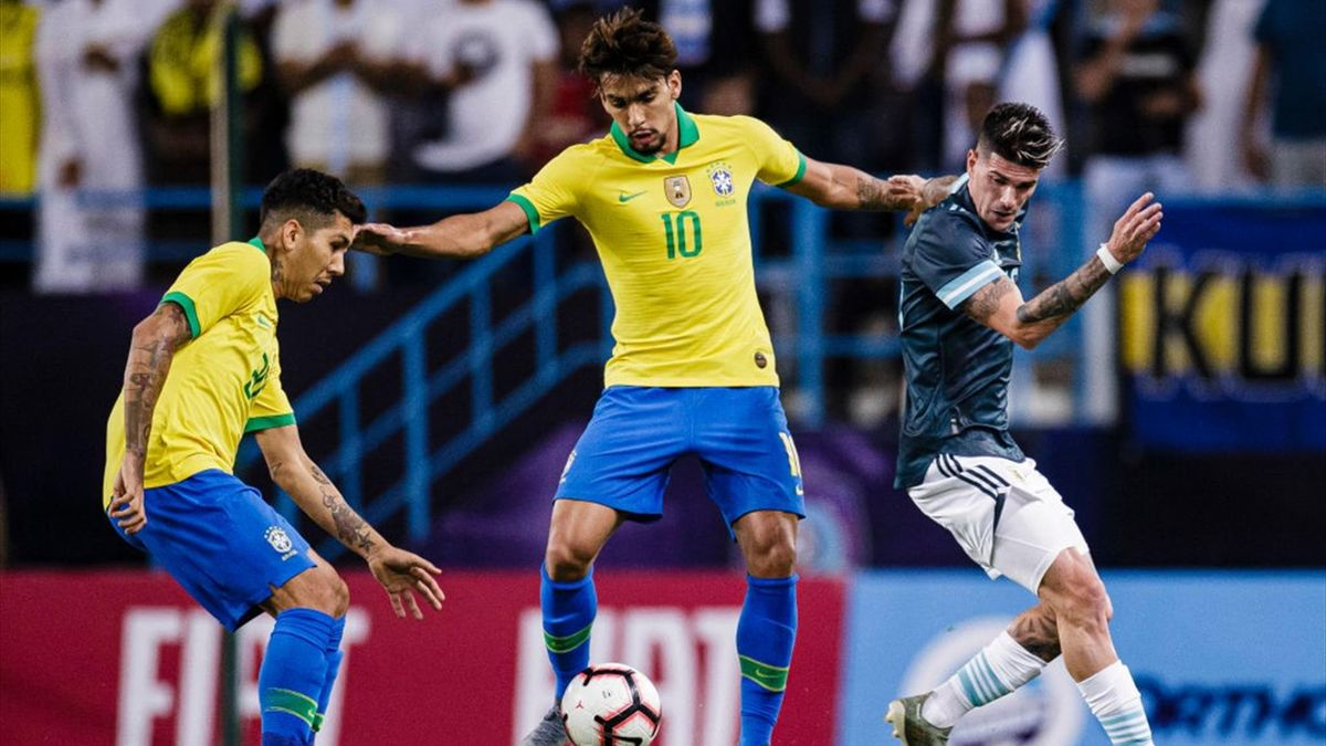 Paquetà - Brazil-Argentina - friendly 2019 - Getty Images