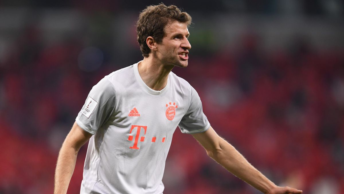 Bayern Munich forward Thomas Muller