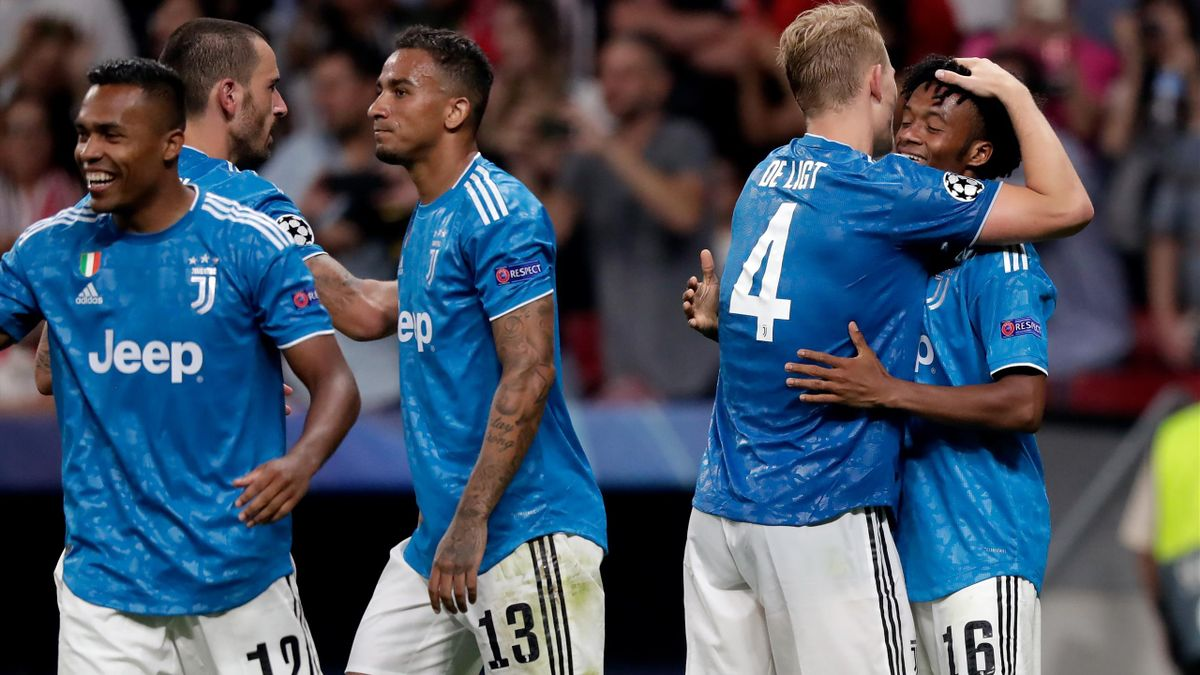 Juventus: de Ligt, Alex Sandro, Cuadrado