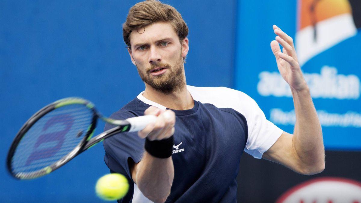 Daniel Brands bei den Australian Open