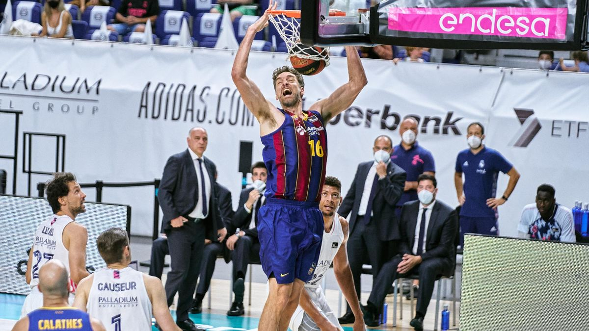 Pau Gasol (Barcelona). Final Liga ACB 2020/21