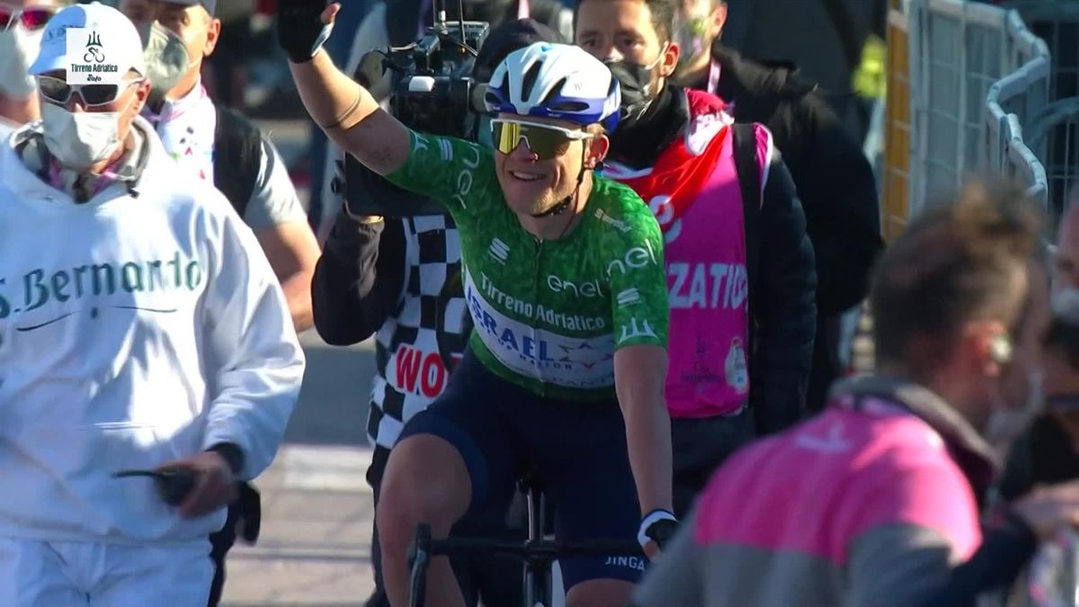 Mads Wurtz Schmidt wint 6e etappe Tirreno