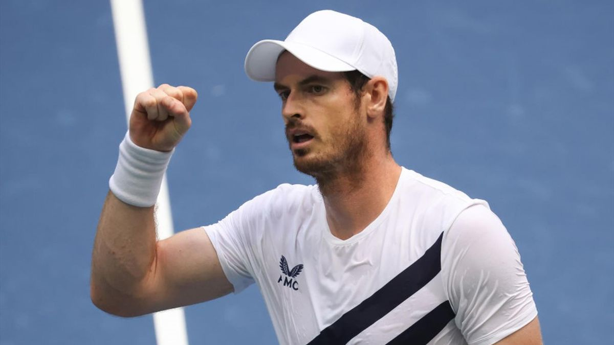 Andy Murray at the 2020 US Open