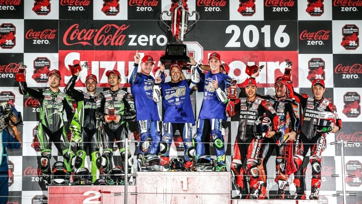 Yamaha lifts the trophy at Suzuka 8 Hours