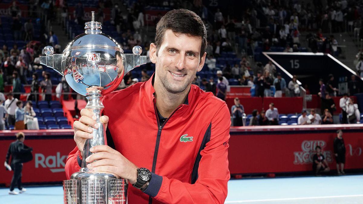 Novak Djokovic se llevaba el triunfo en el Abierto de Tokio