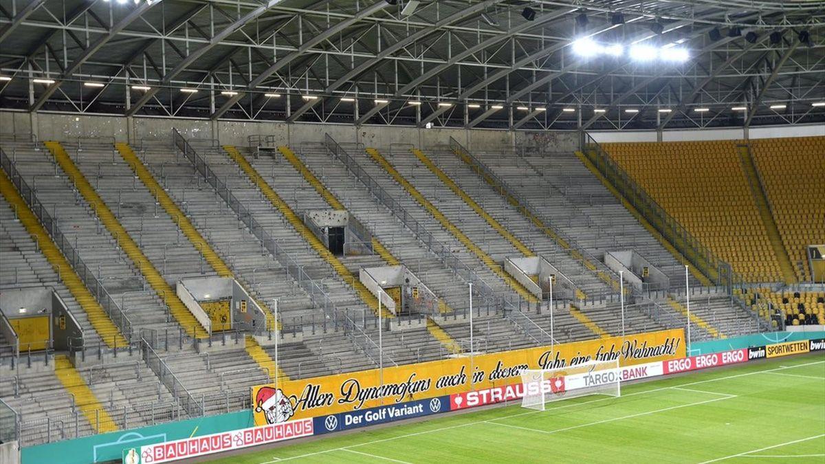 Фанаты и стадион «Динамо» (Дрезден)