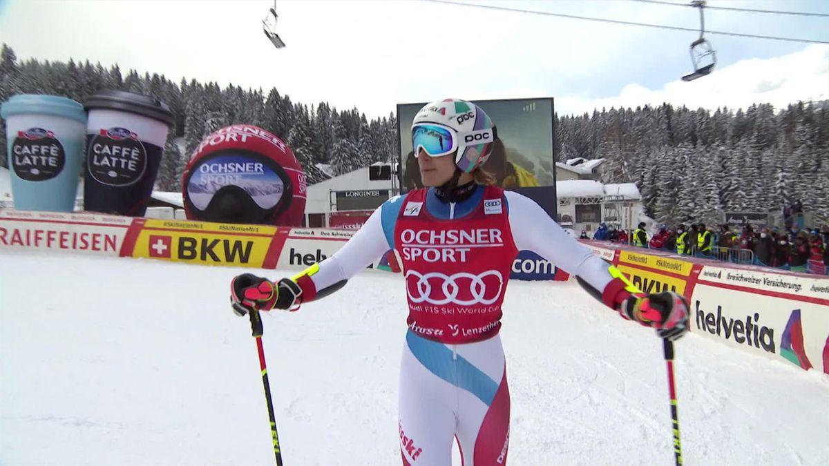Alpine Skiing at Lenzerheide  : 2nd Leg Odermatt