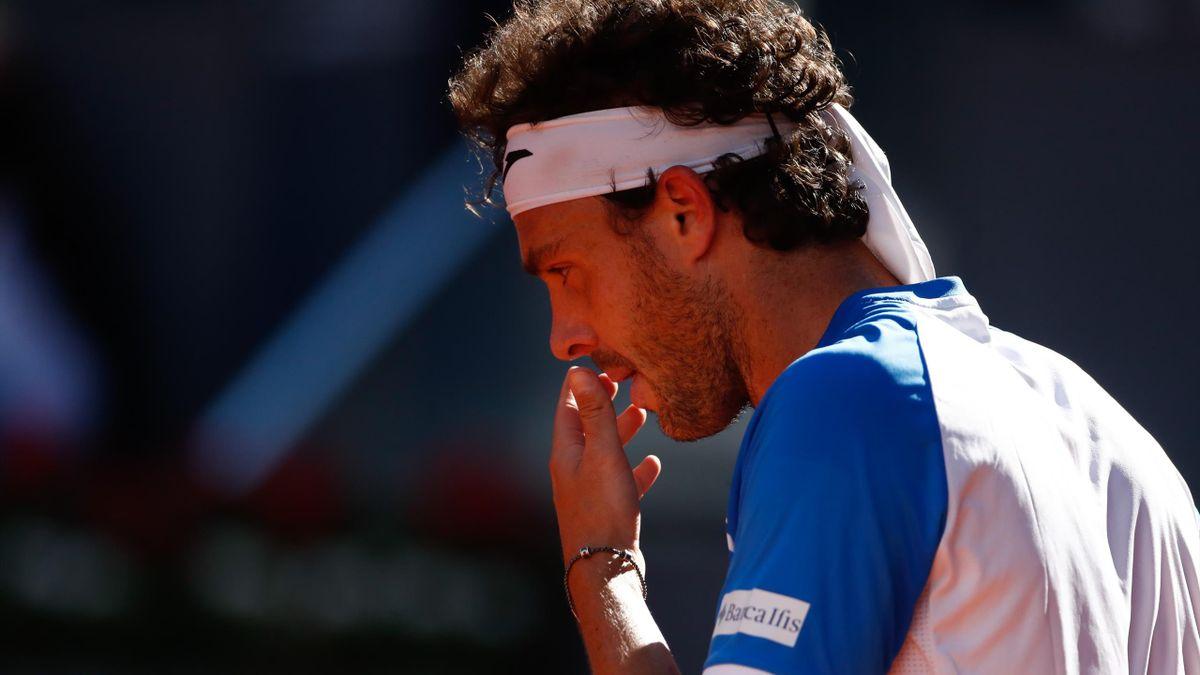 L'amarezza di Marco Cecchinato, Tennis, Getty Images