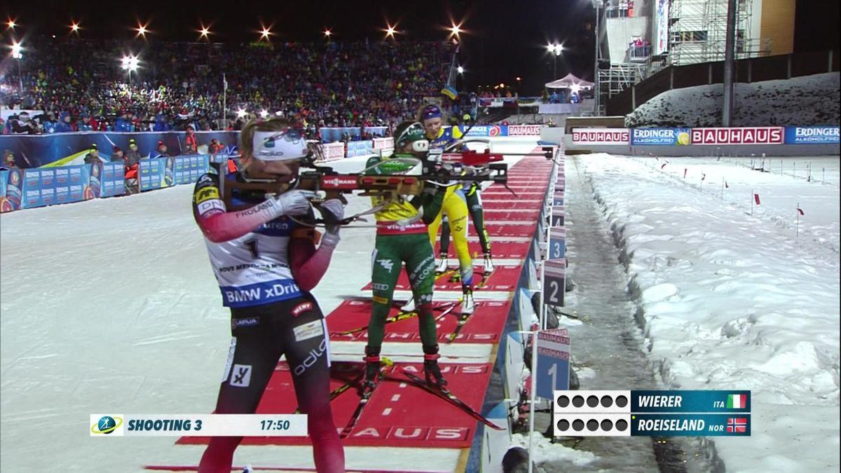 Biathlon 10 km Women : Highlights