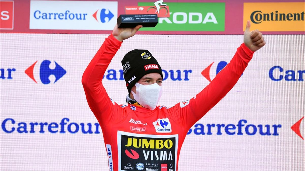 Primoz Roglic - Vuelta 2020, stage 17 - Getty Images