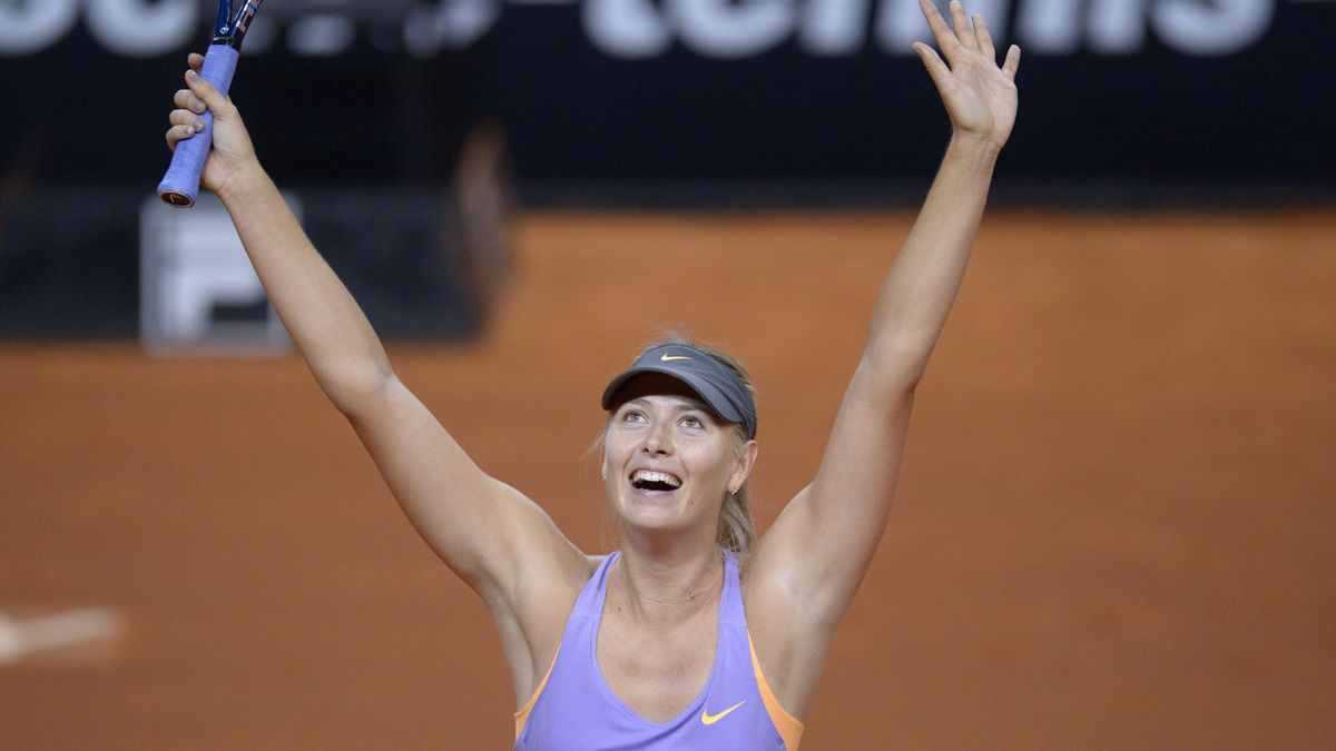 Maria Sharapova remporte son troisième titre consécutif - WTA Stuttgart 2014