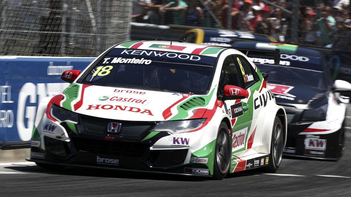 Tiago Monteiro im Honda Civic