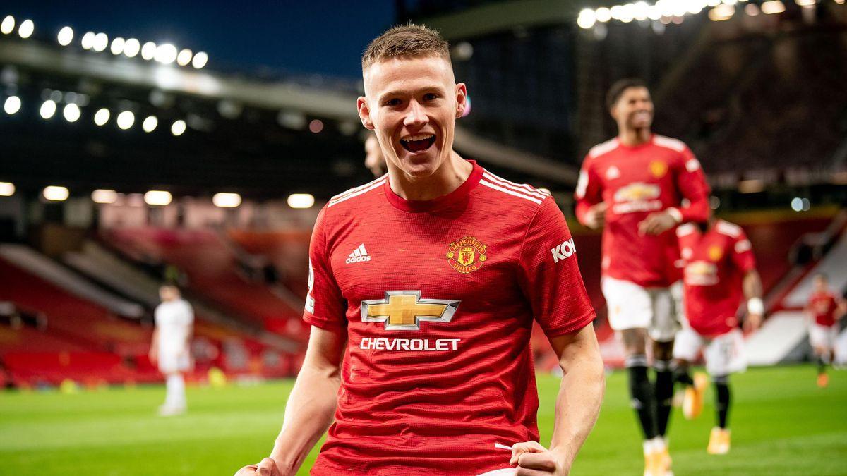 Scott McTominay of Manchester United