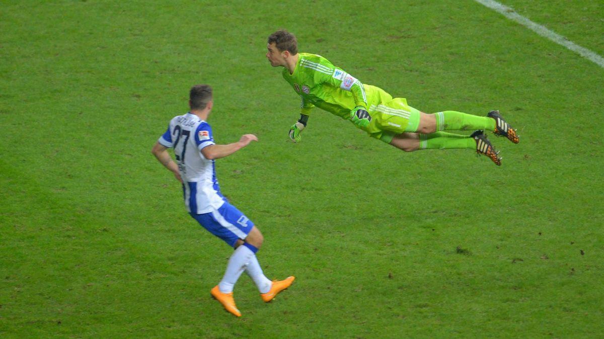 Manuel Neuer - Hertha Berlin vs FC Bayern - Bundesliga 2014-2015 (Imago)