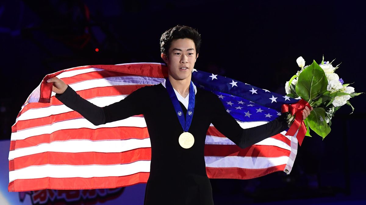 Wereldkampioen Nathan Chen
