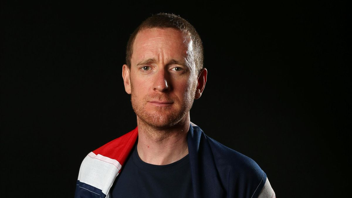 Bradley Wiggins of Team GB poses for a photo