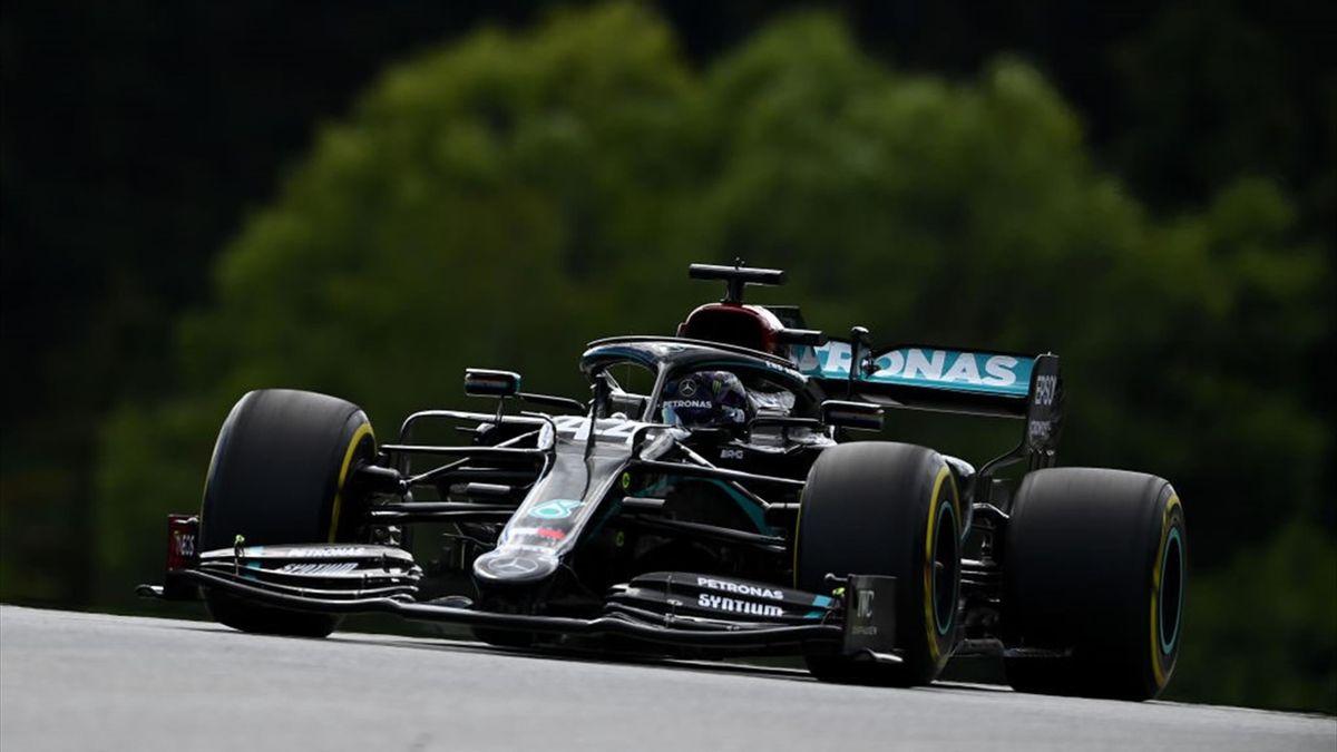 Lewis Hamilton (Mercedes) au Grand Prix de Styrie 2020