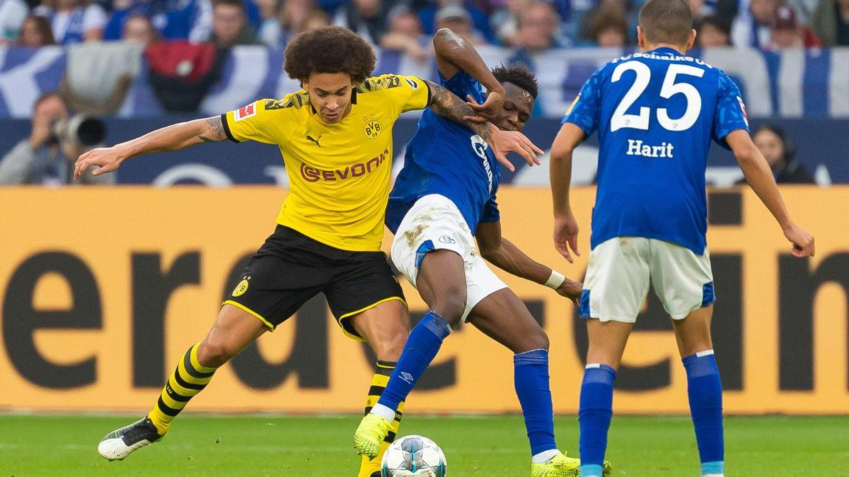 Im Revierderby zwischen Dortmund und Schalke geht es häufig hitzig zu