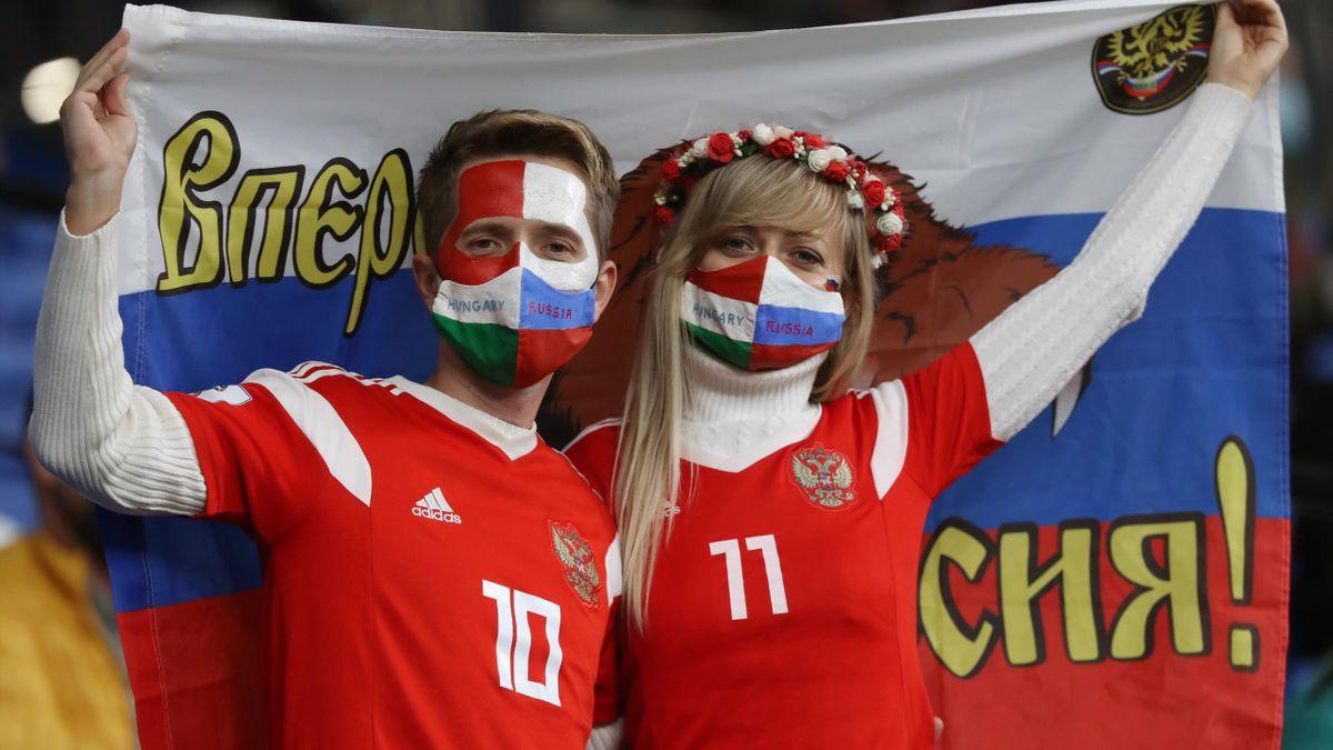 Фанаты сборной России