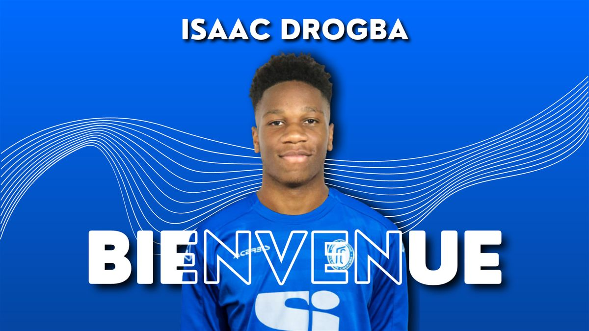 Isaac Drogba, the son of former Chelsea and Ivory Coast striker Didier Credit: folgorecaratese.it